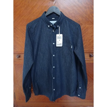 Koszula męska Carhartt L/S civil shirt blue rinsed