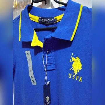 Nowa męska koszulka polo U.S. Polo Assn.