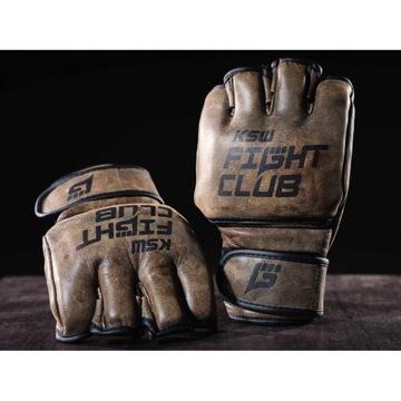 NOWE rękawice do MMA - KSW FIGHT CLUB, skóra