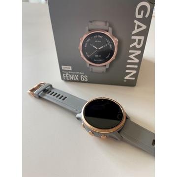 Zegarek Garmin Fenix 6S Sapphire rose/grey