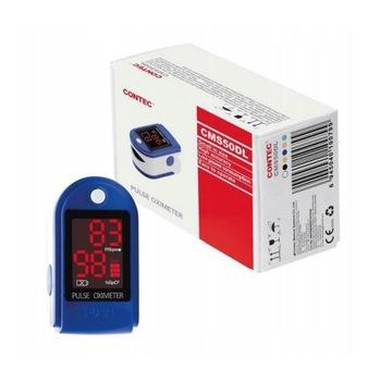 CONTEC CMS50DL pulsoksymetr medyczny napalcowy