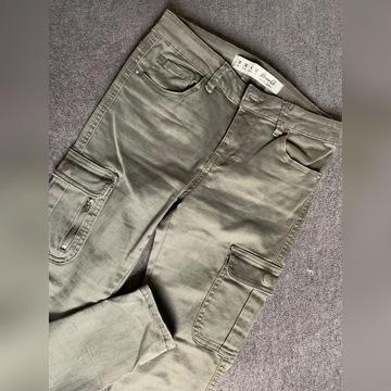 Bojówki jeansy r. 38 primark