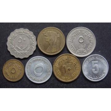 Monety arabskie - 7 sztuk