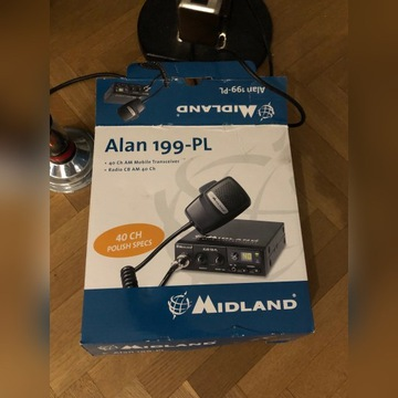 CB radio Midland Alan 199 PL