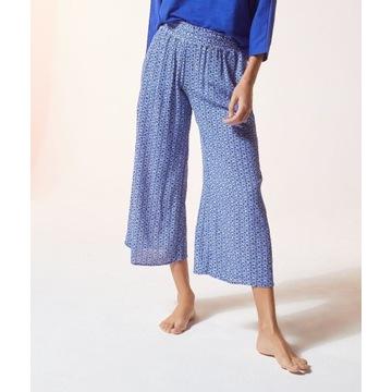 Etam - Wzorzyste Spodnie Pizamowe