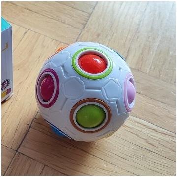 MAGIC BALL zabawka sensoryczna antystresowa