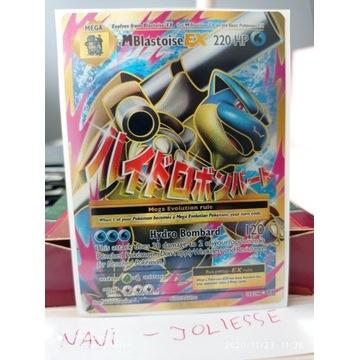 MBlastoise EX Full Art 102/108 M/NM Evolutions