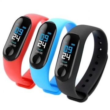 Opaska sportowa smartband, smartwatch wodoodporny