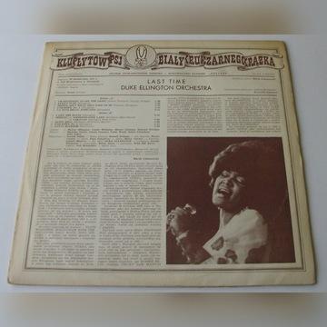 Duke Ellington - Last Time (LP) Poljazz ex