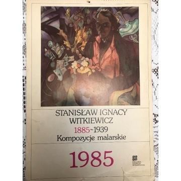 Kalendarz 1985 rok