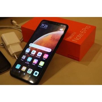 Telefon Xiaomi Redmi Note 6 Pro 4GB / 64GB PIĘKNY!