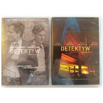 Detektyw, dwa pierwsze sezony na DVD