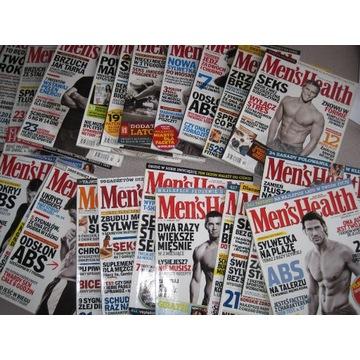 Miesięcznik Men's Health prawie cały 2005 idealny