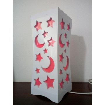 Lampka nocna lampa dla dziewczynki