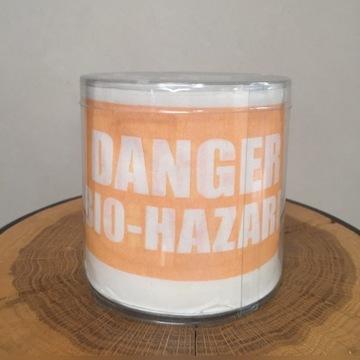 Papier toaletowy.UK. Danger Biohazard
