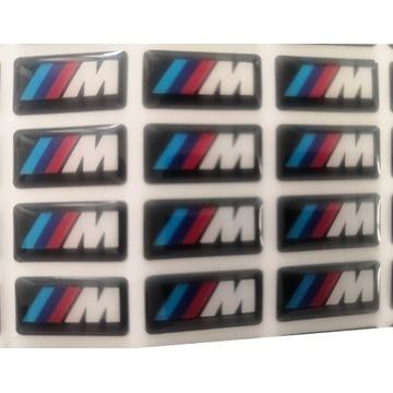 Emblemat logo naklejka BMW M Power 3D naklejki M3