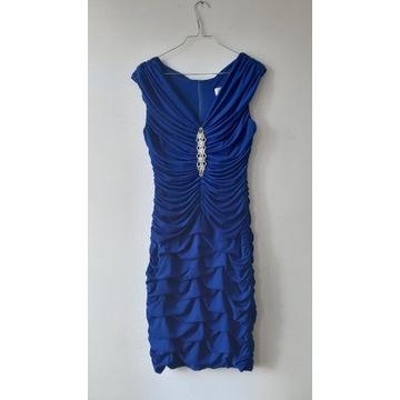 Sukienka niebieska rozm. 38