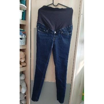 Spodnie ciążowe H&M mama slim jeansy 40 L