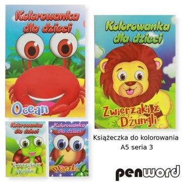 Kolorowanka Malowanka  A5