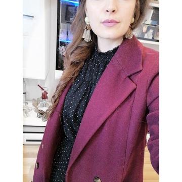 (Prawie) nowy płaszcz na jesień, 38. ASOS. Fuksja.