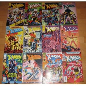 X-MEN KOLEKCJA 53 KOMIKSÓW 1992 - 1997