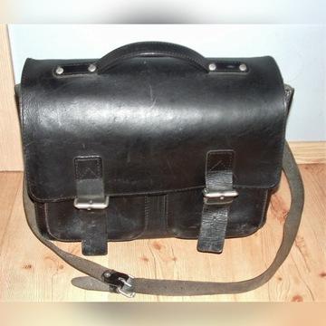 Ruitertassen - torba teczka skóra naturalna