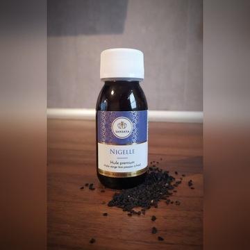 Olej Extra Virgin z Czarnuszki Naturalny 60 ml