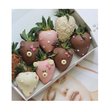 Na radość dla każdego - truskawki w czokoladzie