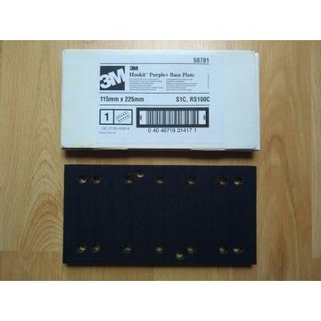 3M Hookit Purple+ base plate S1C 115 x 225 50781