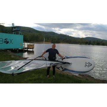 Zestaw Windsurfing do nauki Deska i Żagiel Pędnik