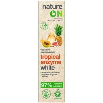 NATUREON tropical enzyme white wegańska pasta