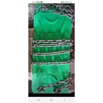 Huśtawka zielona z łańcuchami