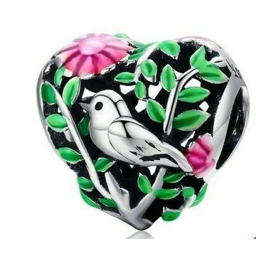 Charms Emalia do Pandora srebro 925