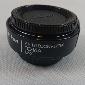 Nikon TC-16A zmodyfikowany pod cyfrowe nikony