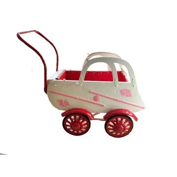 Wózek dla dziwwczynki - po renowacji, lata 50