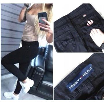 Spodnie dżinsowe tommy xs 34 wyższy stan