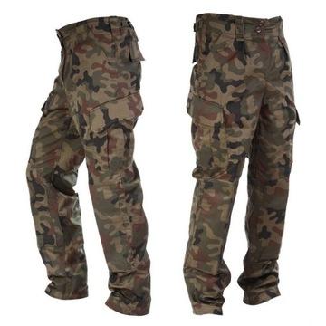 Spodnie Wojskowe POLSKIE MORO BOJÓWKI NOWE roz L