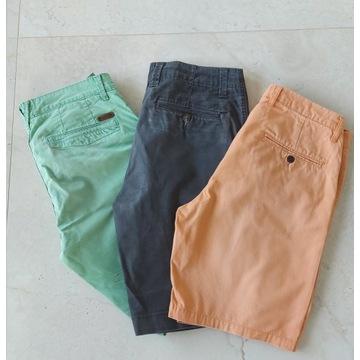 Krótkie spodnie męskie szorty Tom Tailor H&M 30 31