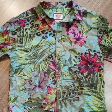 Koszula Hawajska w Kwiaty Twisted Soul rozmiar M