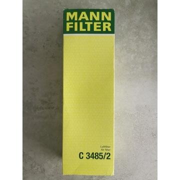 Filtr powietrza MANN C 3485/2 Citoen Peugeot