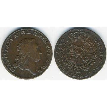 trojak 1766, Kraków -ładny-