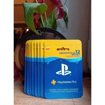 PlayStation + Plus PL PSN 365 dni