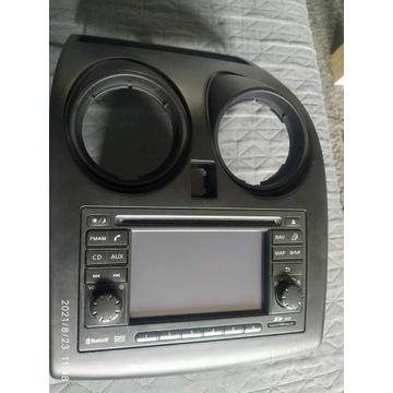 Fabryczna radio - nawigacja z Nissan Qashqai z 201