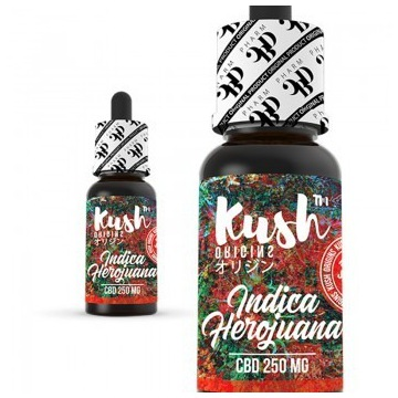 Liquid CBD - Kush Origins – Indica herojuana