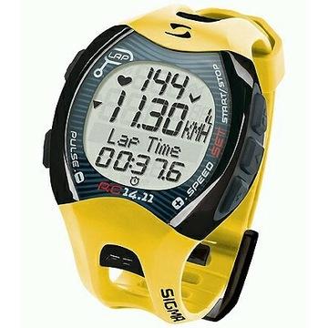NOWY pulsometr SIGMA rc 14.11 zegarek sportowy