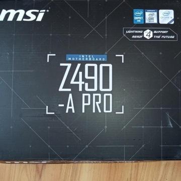 Płyta MSI Z490-A Pro ATX