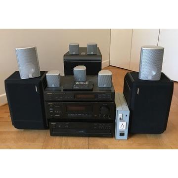 Onkyo/JBL/Bose/Canton- caly surround stereo zestaw