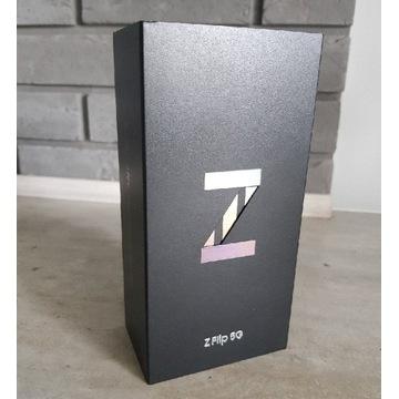 Nowy plomby Samsung Z Flip 5G 8/256GB BlackPL 24m