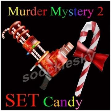 ROBLOX Murder Mystery 2 Candy SET 2