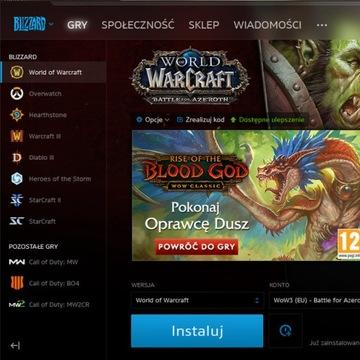 Konto Battle.net - WoW/D3/SC2/Overwatch itd.